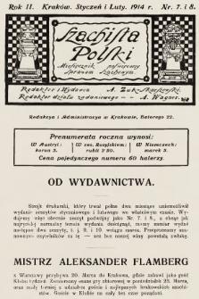 Szachista Polski : miesięcznik poświęcony sprawom szachowym. 1914, nr7-8