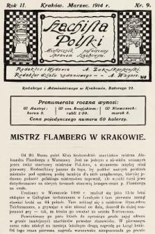 Szachista Polski : miesięcznik poświęcony sprawom szachowym. 1914, nr9