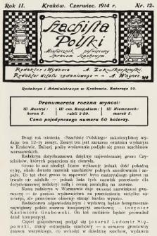 Szachista Polski : miesięcznik poświęcony sprawom szachowym. 1914, nr12