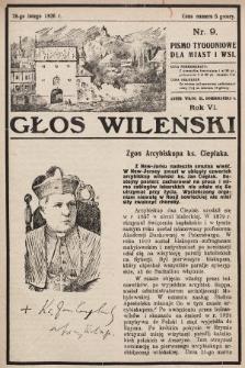 Głos Wileński : pismo tygodniowe dla miast i wsi. 1926, nr9