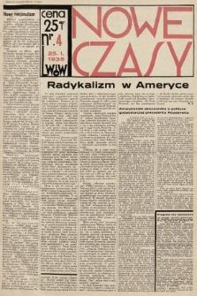 Nowe Czasy. 1935, nr4