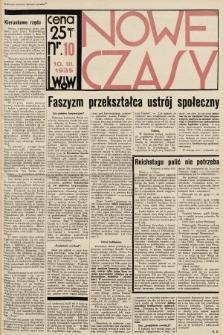Nowe Czasy. 1935, nr10