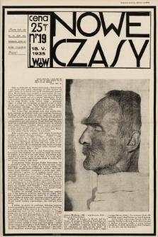 Nowe Czasy. 1935, nr19