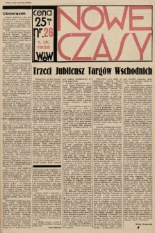 Nowe Czasy. 1935, nr26