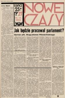 Nowe Czasy. 1935, nr27