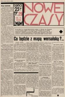 Nowe Czasy. 1935, nr29