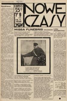 Nowe Czasy. 1936, nr9