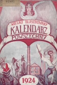 Wielki Ilustrowany Kalendarz Powszechny na Rok 1924