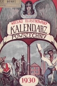 Wielki Ilustrowany Kalendarz Powszechny na Rok 1930