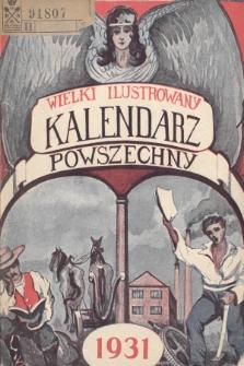 Wielki Ilustrowany Kalendarz Powszechny na Rok 1931