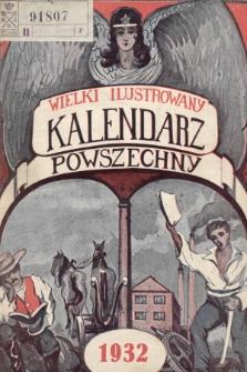 Wielki Ilustrowany Kalendarz Powszechny na Rok 1932