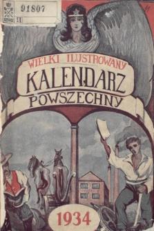 Wielki Ilustrowany Kalendarz Powszechny na Rok 1934