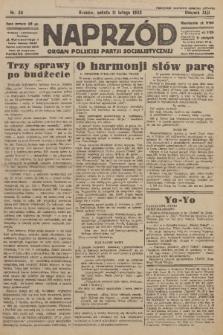 Naprzód : organ Polskiej Partji Socjalistycznej. 1933, nr34