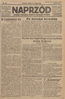 Naprzód : organ Polskiej Partji Socjalistycznej. 1933, nr36