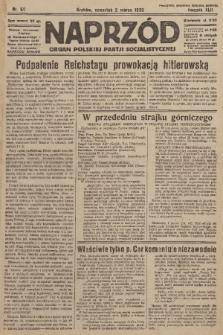 Naprzód : organ Polskiej Partji Socjalistycznej. 1933, nr50