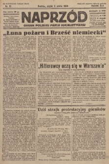 Naprzód : organ Polskiej Partji Socjalistycznej. 1933, nr51 (po konfiskacie nakład drugi)