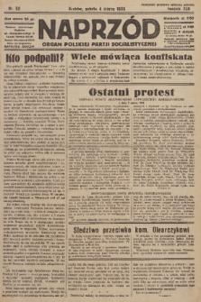 Naprzód : organ Polskiej Partji Socjalistycznej. 1933, nr52