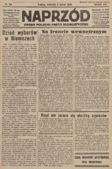Naprzód : organ Polskiej Partji Socjalistycznej. 1933, nr53