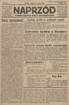 Naprzód : organ Polskiej Partji Socjalistycznej. 1933, nr58