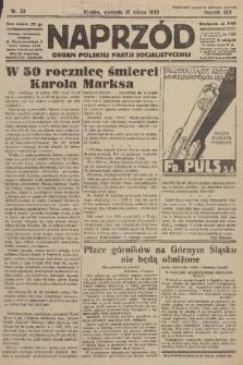 Naprzód : organ Polskiej Partji Socjalistycznej. 1933, nr59