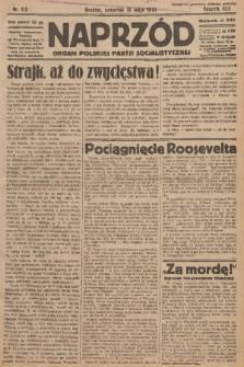 Naprzód : organ Polskiej Partji Socjalistycznej. 1933, nr113