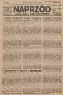 Naprzód : organ Polskiej Partji Socjalistycznej. 1933, nr126