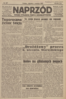 Naprzód : organ Polskiej Partji Socjalistycznej. 1933, nr127