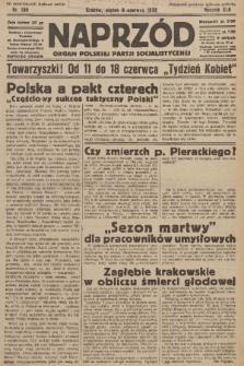 Naprzód : organ Polskiej Partji Socjalistycznej. 1933, nr130 (po konfiskacie nakład drugi)
