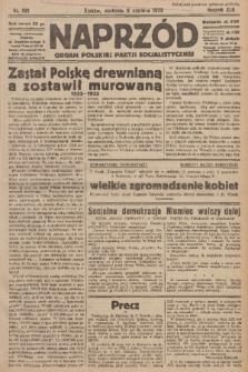 Naprzód : organ Polskiej Partji Socjalistycznej. 1933, nr132