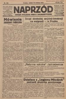 Naprzód : organ Polskiej Partji Socjalistycznej. 1933, nr133