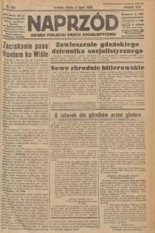 Naprzód : organ Polskiej Partji Socjalistycznej. 1933, nr150