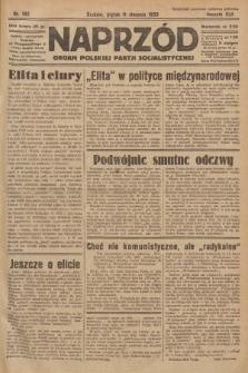 Naprzód : organ Polskiej Partji Socjalistycznej. 1933, nr182