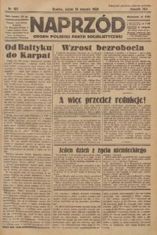Naprzód : organ Polskiej Partji Socjalistycznej. 1933, nr187