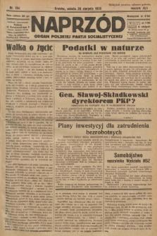 Naprzód : organ Polskiej Partji Socjalistycznej. 1933, nr194
