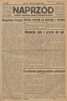 Naprzód : organ Polskiej Partji Socjalistycznej. 1933, nr200