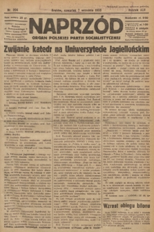 Naprzód : organ Polskiej Partji Socjalistycznej. 1933, nr204