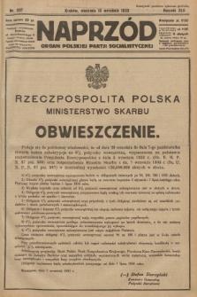 Naprzód : organ Polskiej Partji Socjalistycznej. 1933, nr207