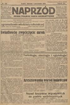 Naprzód : organ Polskiej Partji Socjalistycznej. 1933, nr225