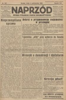 Naprzód : organ Polskiej Partji Socjalistycznej. 1933, nr227