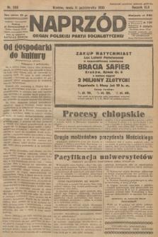 Naprzód : organ Polskiej Partji Socjalistycznej. 1933, nr233