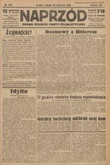 Naprzód : organ Polskiej Partji Socjalistycznej. 1933, nr274