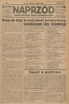 Naprzód : organ Polskiej Partji Socjalistycznej. 1933, nr277