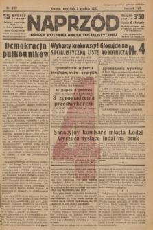 Naprzód : organ Polskiej Partji Socjalistycznej. 1933, nr282