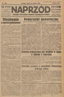 Naprzód : organ Polskiej Partji Socjalistycznej. 1933, nr289