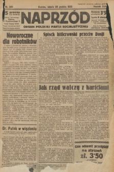 Naprzód : organ Polskiej Partji Socjalistycznej. 1933, nr300