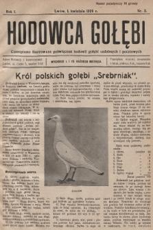 Hodowca Gołębi : czasopismo ilustrowane poświęcone hodowli gołębi ozdobnych i pocztowych. 1926, nr3