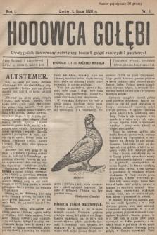Hodowca Gołębi : dwutygodnik ilustrowany poświęcony hodowli gołębi rasowych i pocztowych. 1926, nr8