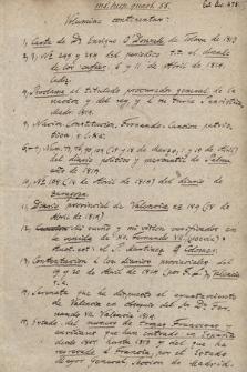 Miscelánea de manuscritos de la Guerra de la Independencia Española (III)