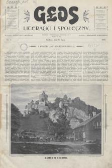 Głos Literacki i Społeczny. 1900, nr1