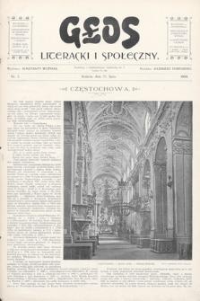 Głos Literacki i Społeczny. 1900, nr3